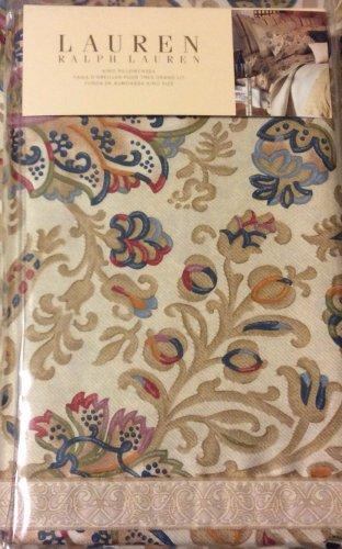 Ralph Lauren Marrakesh Rug King Pillowcases $130 NIP