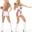 0617L-83062  2 Piece Football Girl Costume