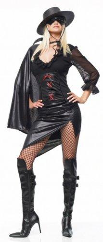 0625L-83123  4 Piece Mystery Hero Costume