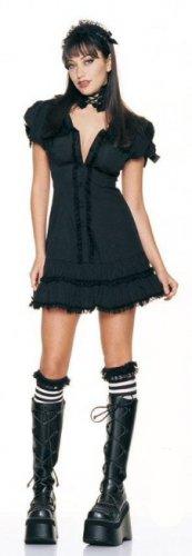 0628L-83038  4 Piece Gothic Doll Dress Costume