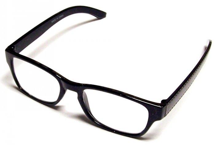 .99 Reading Glasses +2.50 Black Frames