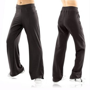 High Quality Women's Black Yoga Gym Pants: Jade