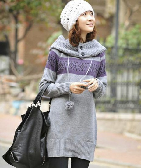 Removable Hoodie Sweater: Andrea