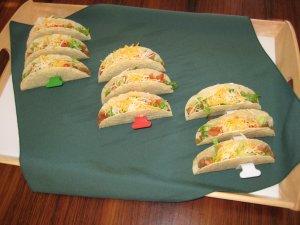 3 Taco Rack Stand Holders
