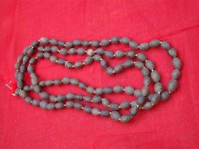 Kamal gatta (lotus seed) mala for Mahalakshmi japas