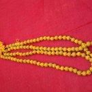 RELIGIOUS TURMERIC HALDI MALA FOR JAPA POOJA