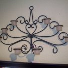 Tea light wall sconce
