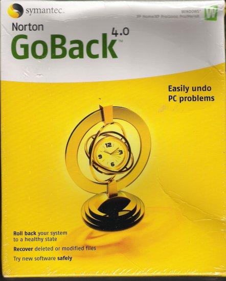 Norton GoBack 4.0,Easily Undo PC Problems !!!!!