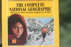 110 YEARS OF NATIONAL GEOGRAPHIC ON CD ROM.