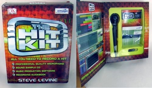 emagic  The Hit Kit ,ALL YOU NEED TO RECORD A HIT by Steve Levine.
