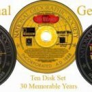 National Geographic Society 30 Year Collectors Edition on TEN discs.
