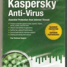 Kaspersky  Anti-Virus Essential Protection From Internet Threats,Maximum Protect