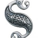 Celtic Sea Horse Pendant for Tranquility & Serenity.Authentic Celtic Pendant.