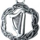 Courtney Davis Celtic Pendant,The Harp of Brian Boru Pendant!!!