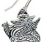 Legends of Rhiannon,Celtic Dragon Earrings for Leadership & Purity!!!!