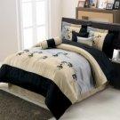 R-T™ #1692 Floral Luxury 7-Piece Comforter Set!!!!!