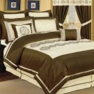 8pc PV. Beige/ Choco Bed-in-a-Bag Comforter Set!!!!