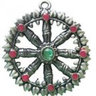 Briar Dharma Charms, Dharma Wheel for Perfect Learning!!!
