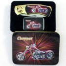 Combo Chopper Knife and Lighter box set