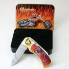 Flame Chopper knife