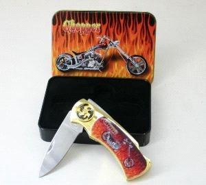 Flame Chopper knife