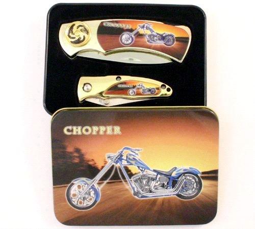 Chopper 2 piece knife set