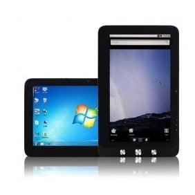 """10.1"""" Pineview  N455 Windows 7 android  dual system Multi Touch 3G 32GB SSD 2GB Ram tablet pc laptop"""