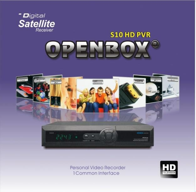 HD Satellite Receiver Openbox S10 HD PVR 2011 Latest version