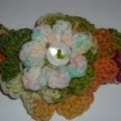 Wool Baby Headband with Flower