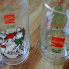 Holiday Coca Cola Glasses