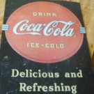 Coca Cola Tin Sign #2