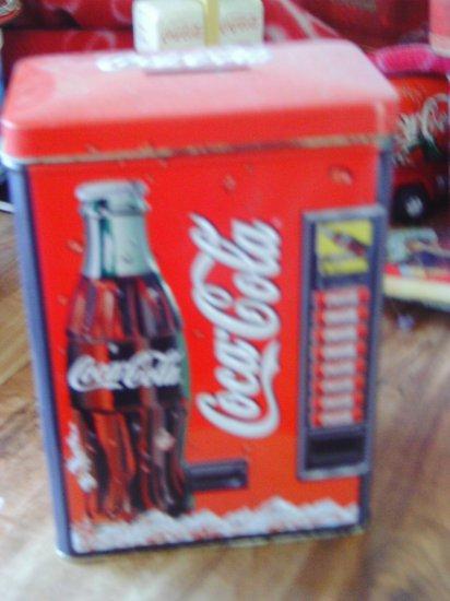 Coca Cola Vending Machine Bank