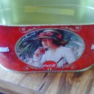 Coca Cola Planter Tin