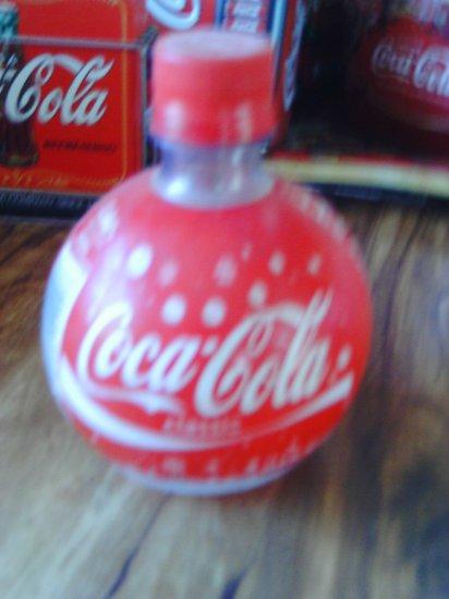 Coca Cola Round Ball Christmas Bottle