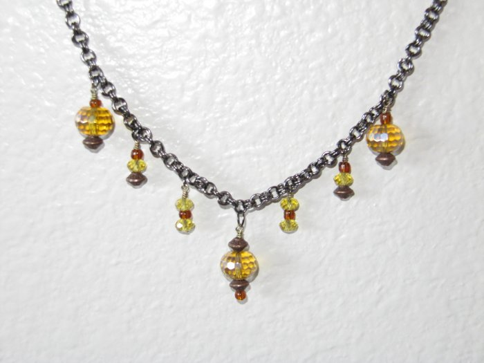 Chinese Lamp Necklace