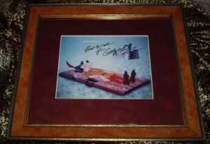 Framed Disney Print ~ Goofy ~ Signed by Bill Farmer