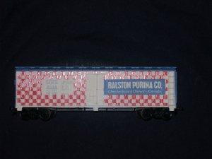 1970'S TYCO TRAIN BILLBOARD REEFER 40' RALSTON #355