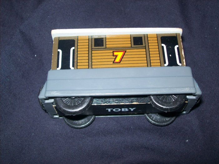 THOMAS THE TRAIN TOBY WOOD