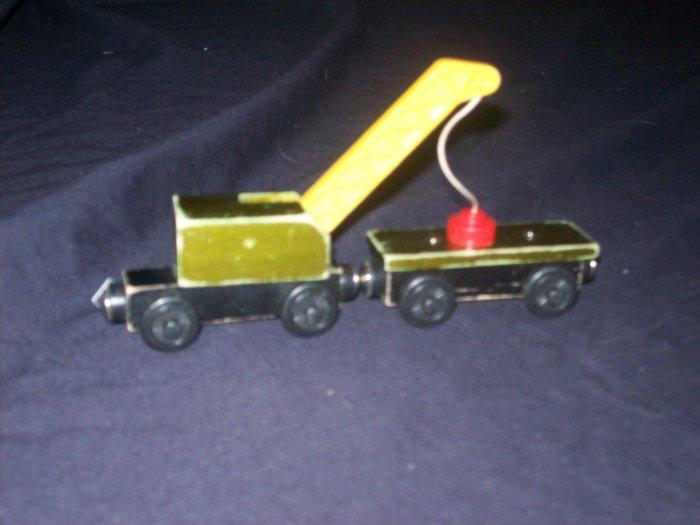 THOMAS THE TRAIN BREAKDOWN TRAIN & FLATBED TRAIN WOOD