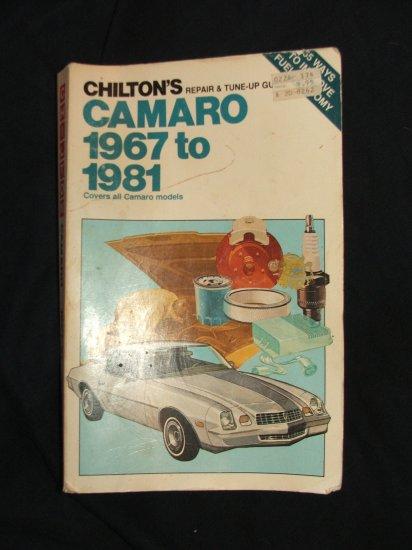 Chilton's CAMARO 1967-1981 Repair Book