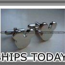 ★ Mickey Mouse ★ Stainless Steel Cuff Links Disney Cufflinks