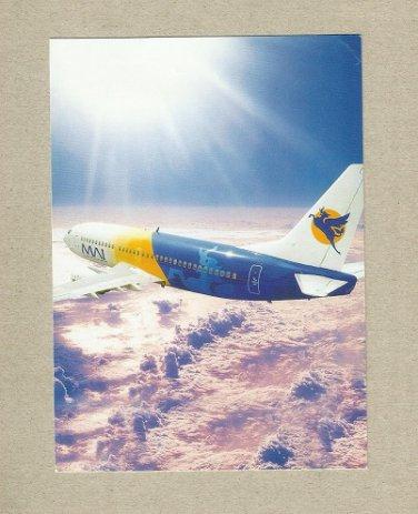 MAI MYANMAR AIRWAYS INTERNATIONAL ISSUED PROMOTIONAL POSTCARD