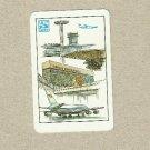 AEROFLOT SOVIET AIRLINES 1987 CREDIT CARD SIZE POCKET CALENDAR