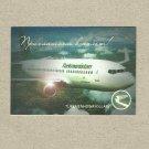 TURKMENISTAN AIRLINES 2013 RUSSIAN LANGUAGE CREDIT CARD SIZE POCKET CALENDAR