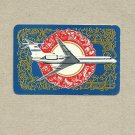 AEROFLOT SOVIET AIRLINES 1975 CREDIT CARD SIZE POCKET CALENDAR