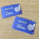BELAVIA BELARUSSIAN AIRLINE SALT AND PEPPER NEW SEALED PACKETS