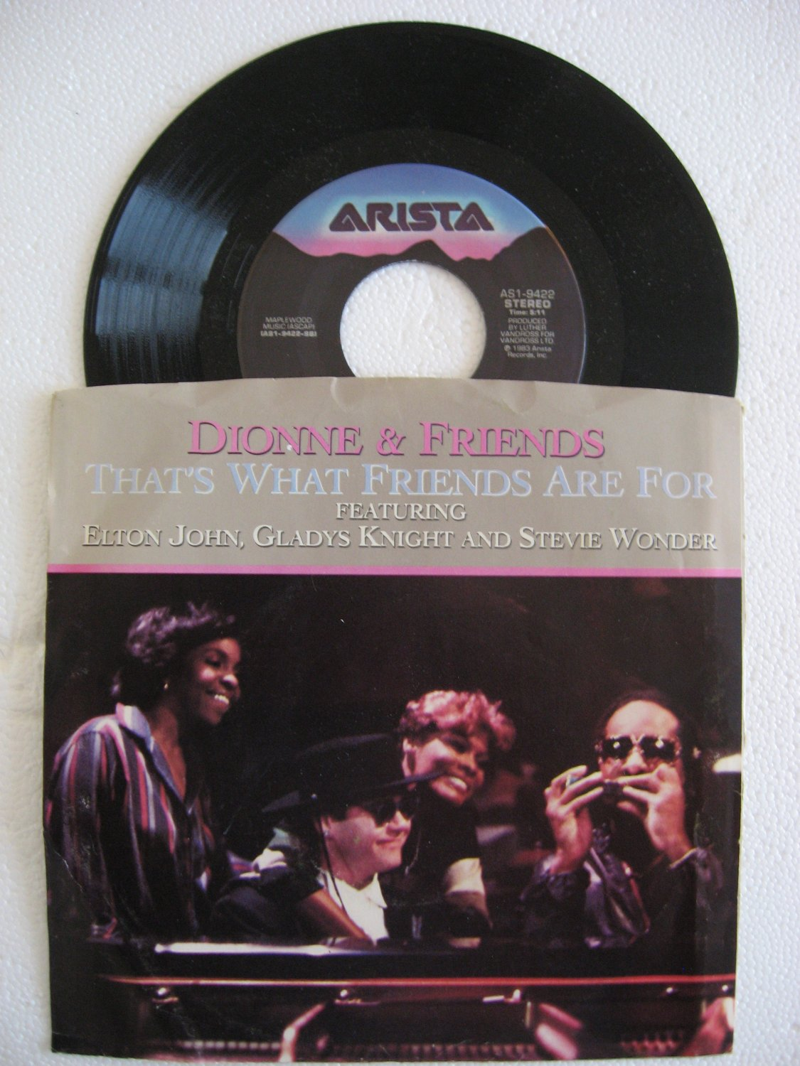 Dionne & Friends - That's What Friends Are For    (Vinyl Record)
