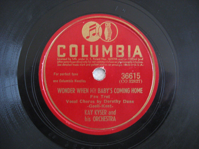 Kay Kyser   (Vinyl Record)