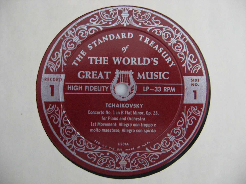 The World's Great Music - Tchaikovsky / Schubert - 1964  (Vinyl Records)