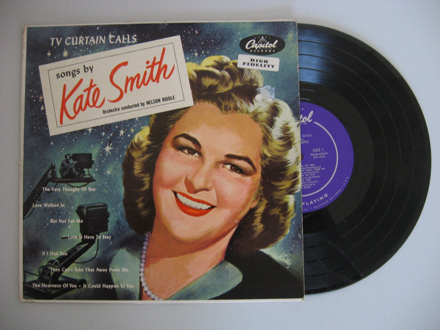 Kate Smith - TV Curtain Calls  (Vinyl Record)
